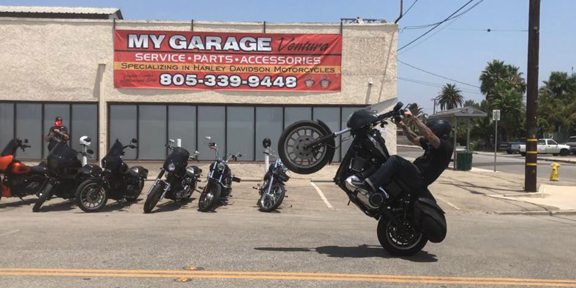 Motorcycle Repair, Maintenance, Sales at MyGarage Ventura
